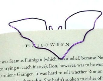 Custom Wire Bat Bookmark