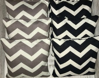 Chevron Corn Hole Bags