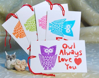 Owl Love Tags