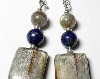 Boho Kynatie , Labradorite and Lapis Lazuli
