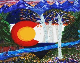 Colorado Love (print)