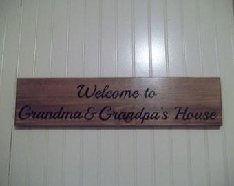 Welcome to Grandma & Grandpa's House