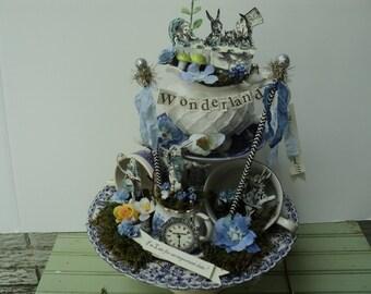 alice in wonderland tea pot fantasy