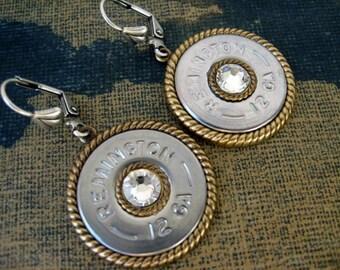 Shotgun Shell Earrings - Bullet Earrings - Dangle Earrings G629