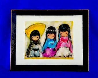 Wee Three by Ted DeGrazia