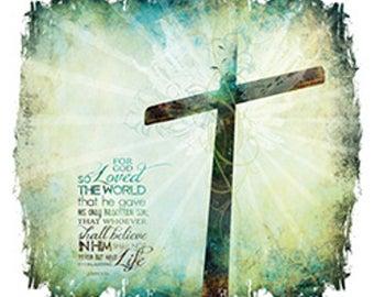 For God So Loved the World Women's Christian T-Shirt