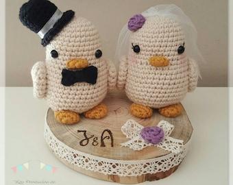 Grooms Birds Wedding Amigurumi
