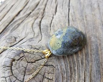 Pyrite in Matrix Necklace