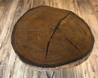 Ash Tree Coffee Table Live Edge