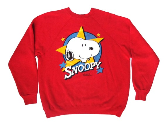 Snoopy Star Sweatshirt