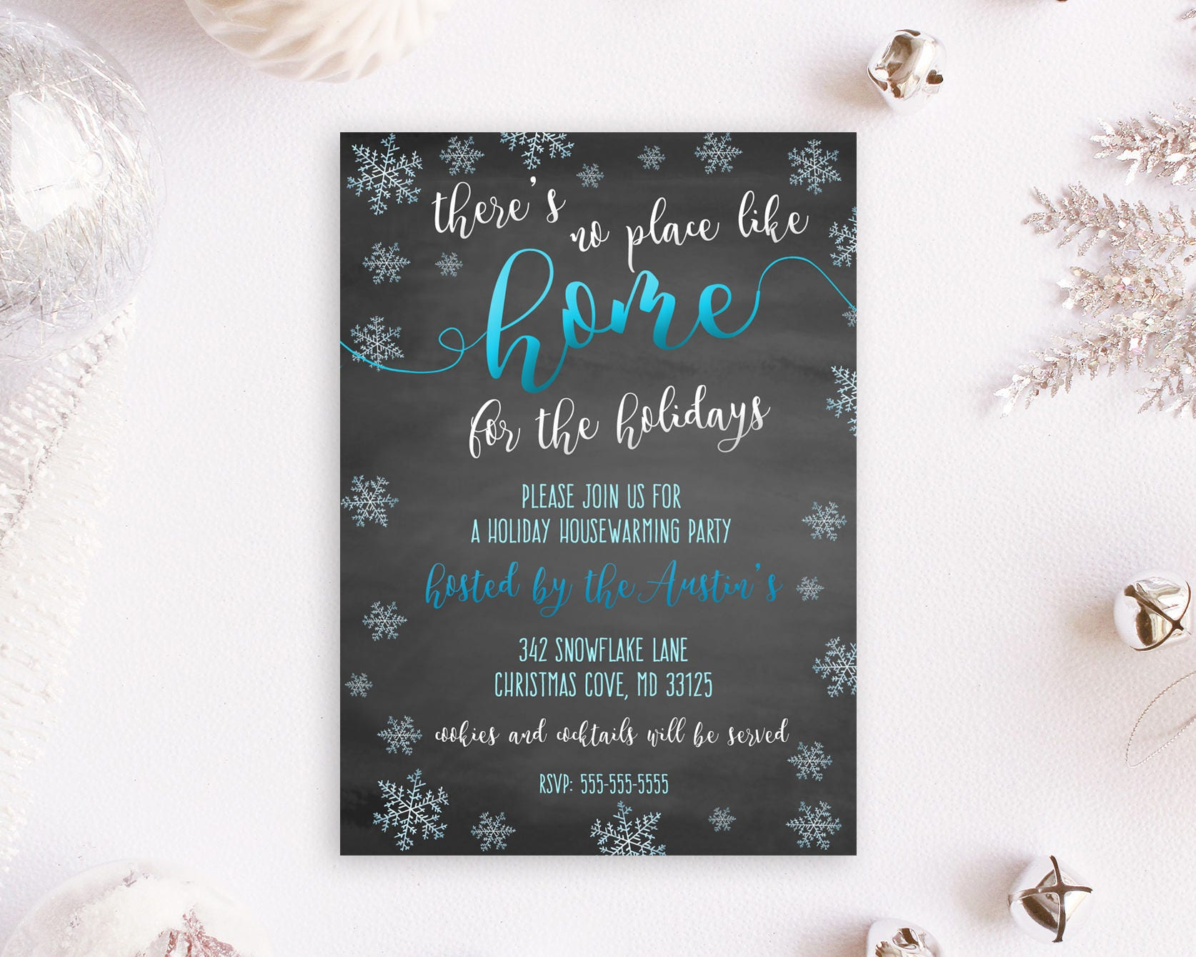 Housewarming Invites Holiday Housewarming Party Holiday