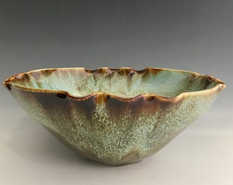 Ceramic Serving Bowl Altered Ceramic Serving Bowl AB-1