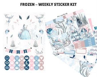 Frozen - Weekly Sticker Kit