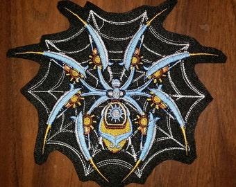 Steampunk Spider Patch