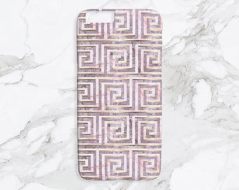 iPhone Case - Poseidon Key - Lilac Print