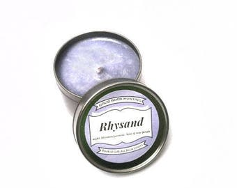 Rhysand | Book Candle | Scented Soy Candle | Book Lover Gift | 4oz tin | Vegan