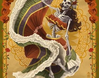 Dia De Los Muertos (Art Prints available in multiple sizes)