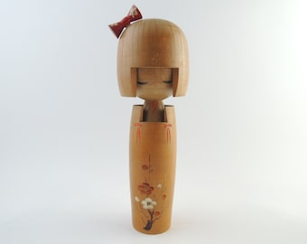 Vintage Japanese Kokeshi Doll, ref1