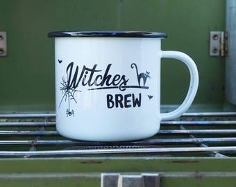 Witch Mug | Halloween Coffee Mug | Fall Mug | Witches Brew Mug