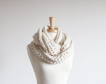 Infinity Scarf Chunky Cowl Warmer | THE ARKLOW in Fisherman