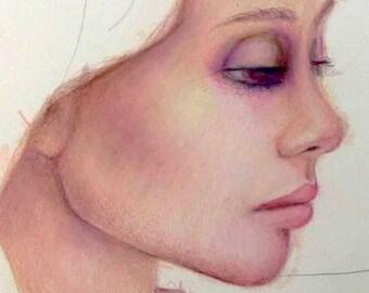 LA VISAGE Colored Pencil Portrait Workshop with Suzi Blu