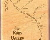 RUBY RIVER MAP Fly Fishin...