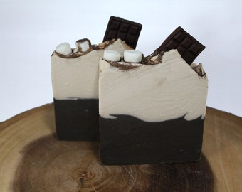 Chocolate Caramel Handcrafted Cold Process Soap