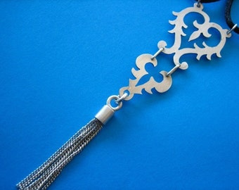 Sterling Silver Tassle Pendant