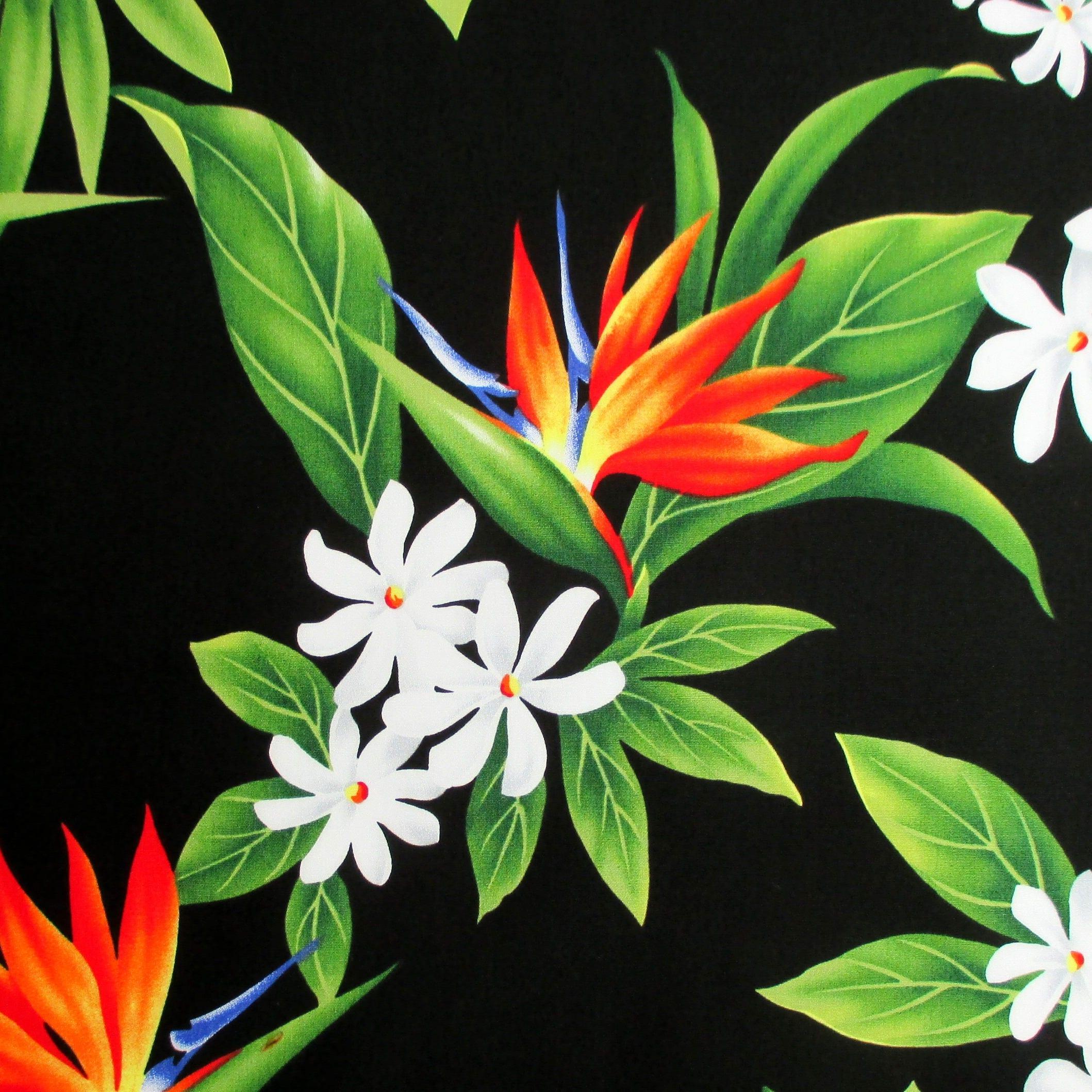 Fabric paradise garlandtropical hawaii bird of paradise flower 375 shipping izmirmasajfo Images