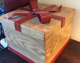 Custom Hardwood Decorative Boxes