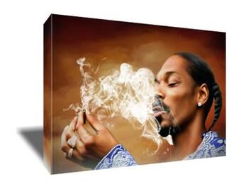 FREE SHIPPING Snoop Dogg Rap Hip Hop Icon Canvas Art
