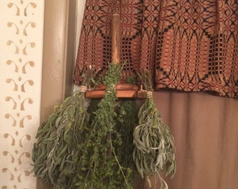 Early Herb or Candle Dryer