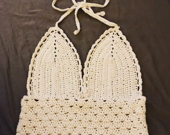 Crochet BOHO Halter Top