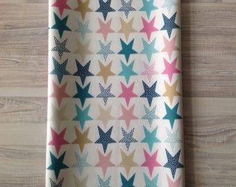 Waterproof fabric printed stars