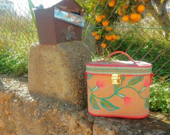 leather box handbag