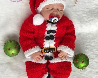 Baby Christmas Outfit, Baby Boy Christmas Outfit, Christmas Outfit baby, Newborn Christmas prop, Newborn Christmas outfit, Baby Christmas