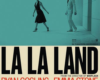 La La Land Movie Poster A4 Small Emma Stone Ryan Gosling