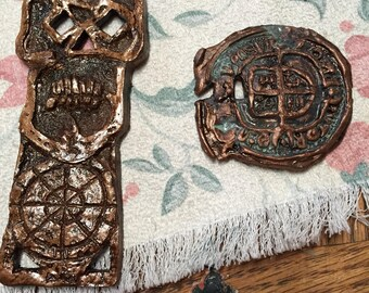 Goonies key and Medallion replicas