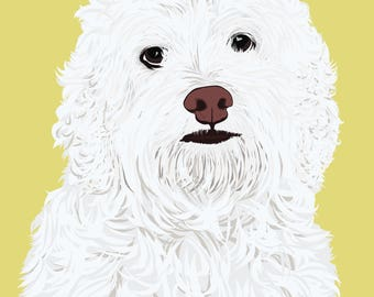 Custom Pet Portrait - Custom Pet Illustration - Digital Pet Portrait