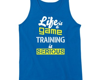 Life Is A Game Training Tanktop