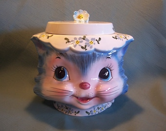 Miss Priss Cookie Jar by Lefton