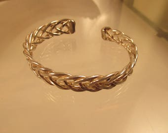 Bracelet Sterling Silver Detailed @ A Village Coin Bullion 8/22/8 B