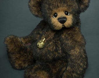 Order Only / Alpaca Artist Bear / Vicky Lougher  / Artist Teddy Bear / Artist Bear / Mohair Teddy Bear / Teddy Bear / Original / Collectible