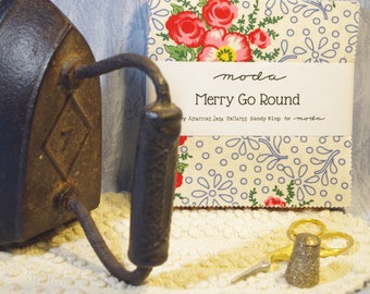"""Merry Go Round 5"""" Charm Pack by American Jane Patterns (Sandy Klop) for Moda"""