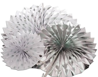 Mothers Day Sale 3 Piece Spiral Fan Set Party Decor Supplies Many colors to choose from