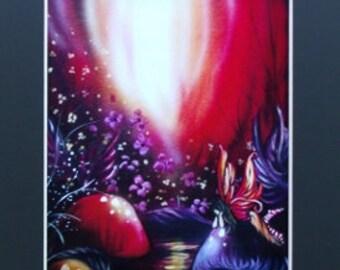 Fairy Art Print 11x14