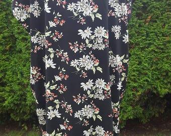Dali poplin print kimono