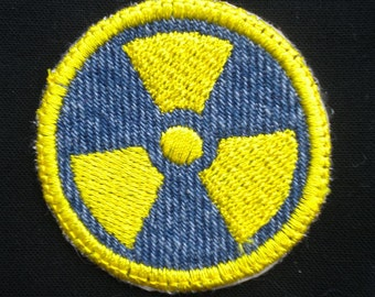 Radiation Iron-on Patch / Merit Badge