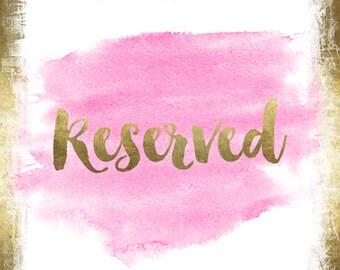 Custom Team Listing for--Brandi--Reserved