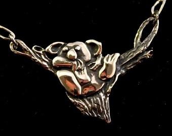 koala Pendant sterling silver